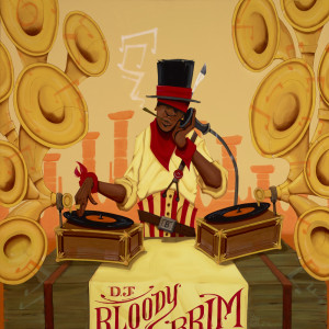 DJ Bloody Brim by Chris Burks